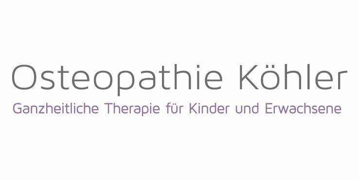 Osteopathie Köhler Logo Schriftform